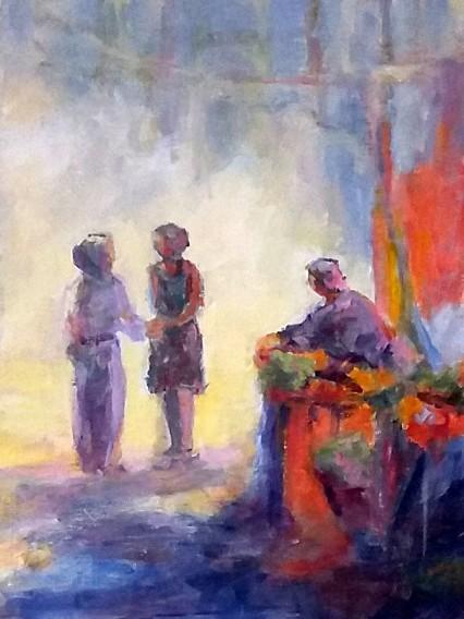 Peinture acrylique sur le marché